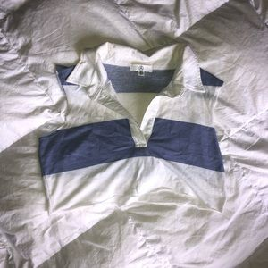 Missguided rugby crop top